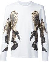 Neil Barrett eagle print long sleeve T-shirt