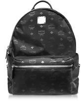 MCM Dieter Monogrammed Nylon Medium Backpack