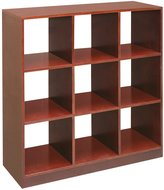 Badger Basket 09161 3x3 Storage Unit - Cherry