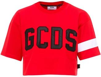 GCDS Cropped T-Shirt