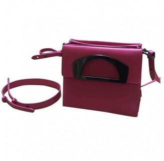 Christian Louboutin Passage Pink Leather Handbags