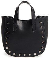 BP Studded Faux Leather Crossbody Bag - Black