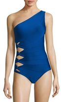 Carmen Marc Valvo Classic Solids One-Piece Swimsuit