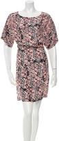 See by Chloe Silk Print Mini Dress