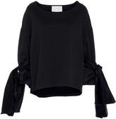 Leal Daccarett Jardin Bow Tie Sleeve Sweater