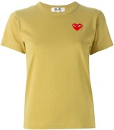 Comme des Garcons logo patch T-shirt