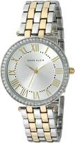 Anne Klein Women's AK-2231SVTT Two-Tone Wrist Watch