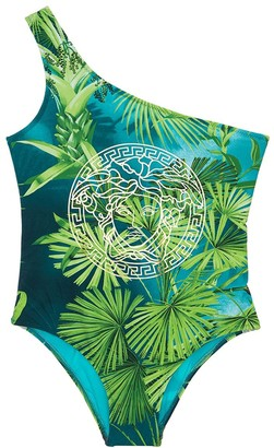 Versace Jungle Print One Piece Swimsuit