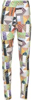 Thumbnail for your product : MAISIE WILEN Body Shop patchwork leggings