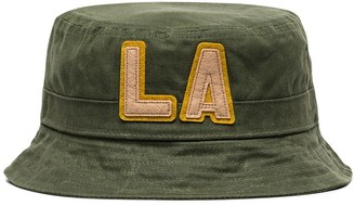 Nick Fouquet logo embroidered bucket hat