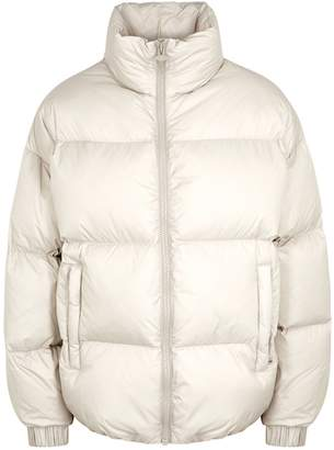 Colmar Ivory Quilted Shell Jacket