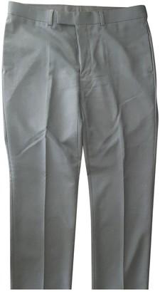 Sandro Black Wool Trousers