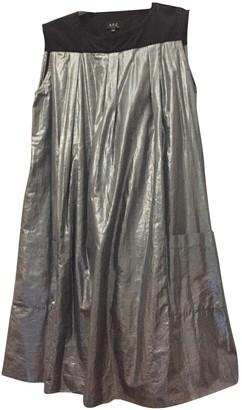 A.P.C. Silver Cotton Dresses