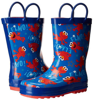 Sesame Street Elmo Little Kid Rainboots