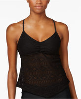 Hula Honey Crochet Tankini Top Women's Swimsuit