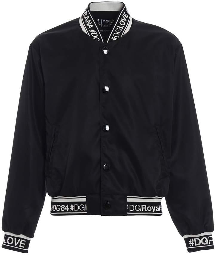 Dolce & Gabbana Bomber Jacket Logo