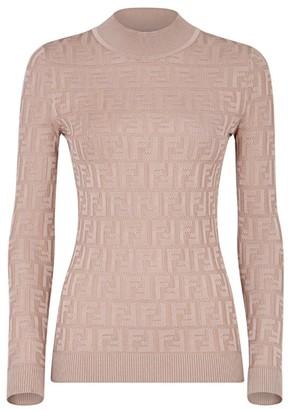 Fendi FF Long-Sleeve Knit
