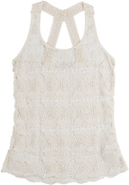 OndadeMar Crochet Lace Tank Top