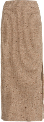 Altuzarra Tony Wool-Cashmere Skirt
