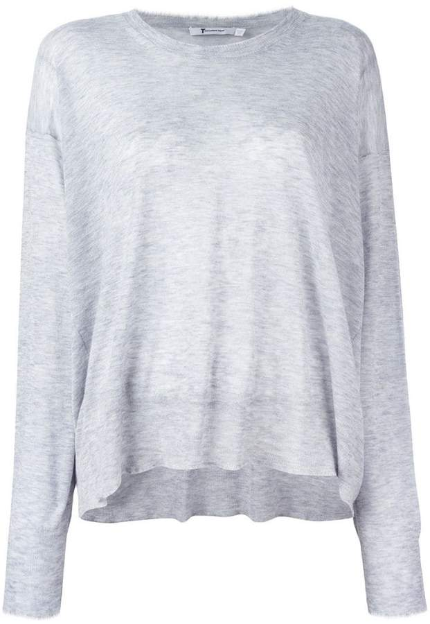 Alexander Wang knit long sleeve top