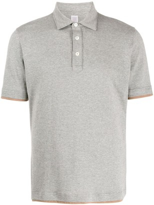 Eleventy layered-effect polo shirt