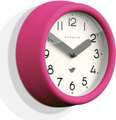 Newgate Clocks - The Pantry Wall Clock - Hot Pink