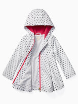 Kate Spade Girls dot raincoat