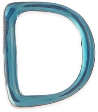Enamel letter charm D