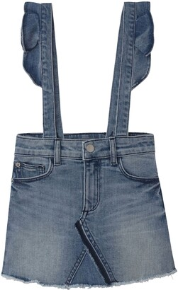 DL1961 Ruffle Overall Skirt