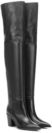 Gianvito Rossi Daenerys leather over-the-knee boots