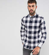 ONLY & SONS Shirt In Slim Fit Brushed Check