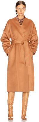 Zimmermann Resistance Wrap Coat in Camel | FWRD