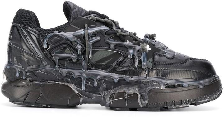 maison margiela melted detail sneaker
