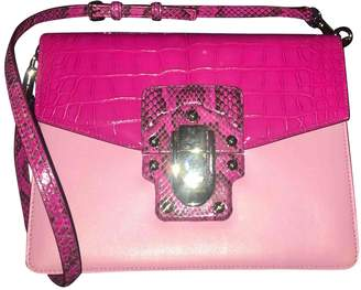 Dolce & Gabbana Lucia Pink Exotic leathers Handbags