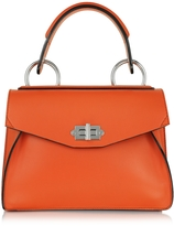 Proenza Schouler Small Hava Pumpkin Smooth Leather Top Handle Bag