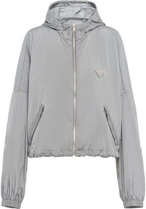 Prada Hooded Zip Jacket