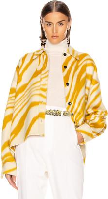 Isabel Marant Hanao Shirt in Yellow | FWRD