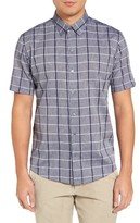 Zachary Prell Men's Leo Plaid Sport Shirt