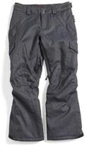 Burton Girl's Elite Waterproof Cargo Snow Pants