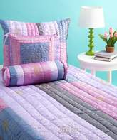 Bacati Jaipuri Purple and Pink Queen Quilt