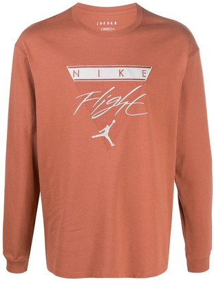 Jordan Embroidered Logo Top