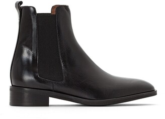 Jonak Domicio Leather Chelsea Ankle Boots