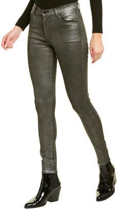 J Brand Maria Silver Lament High-Rise Skinny Leg Jean
