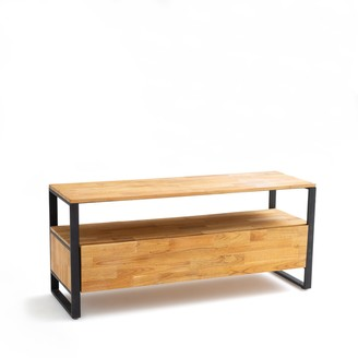 La Redoute La Hiba Solid Oak TV Unit
