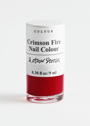 And other stories Crimson Fire Nail Polish
