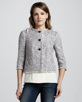 Tory Burch Emma Tweed Jacket