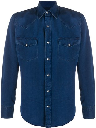 Tom Ford Denim Long-Sleeved Shirt