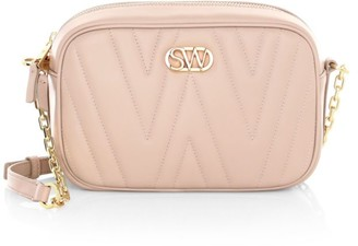 Stuart Weitzman Reana Quilted Leather Camera Bag