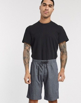 Tom Tailor chino shorts with drawstring waist in dark grey
