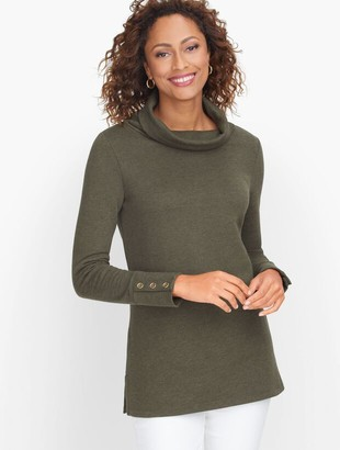 Talbots Funnel Neck Pullover